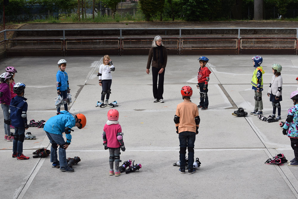 Inline Crash Kurs für Kids